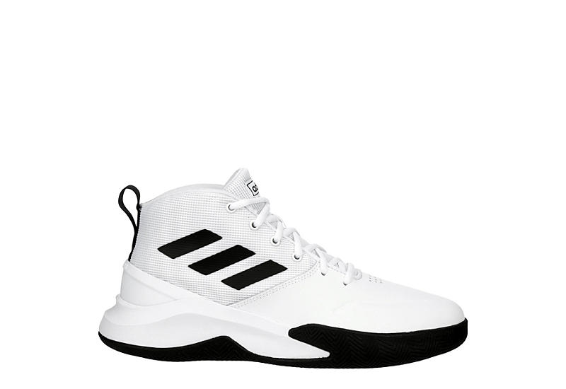 ADIDAS Mens Own The Game Sneaker - WHITE