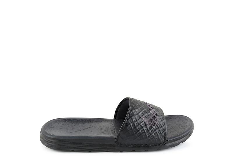 NIKE Mens Benassi Sandal - BLACK