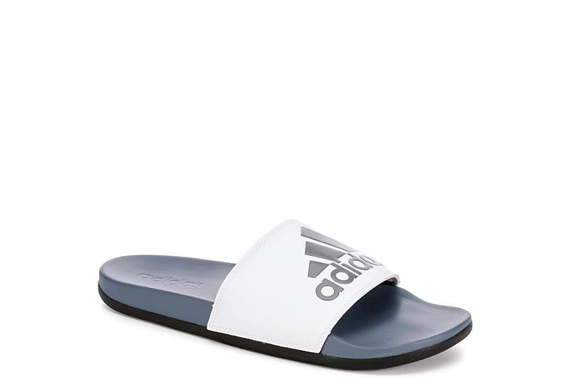 3f678d1b418d Grey   White adidas Adilette Men s Slides