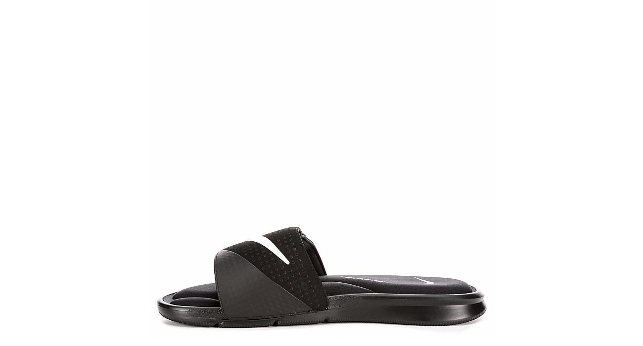 NIKE Mens Ultra Comfort Slide - BLACK