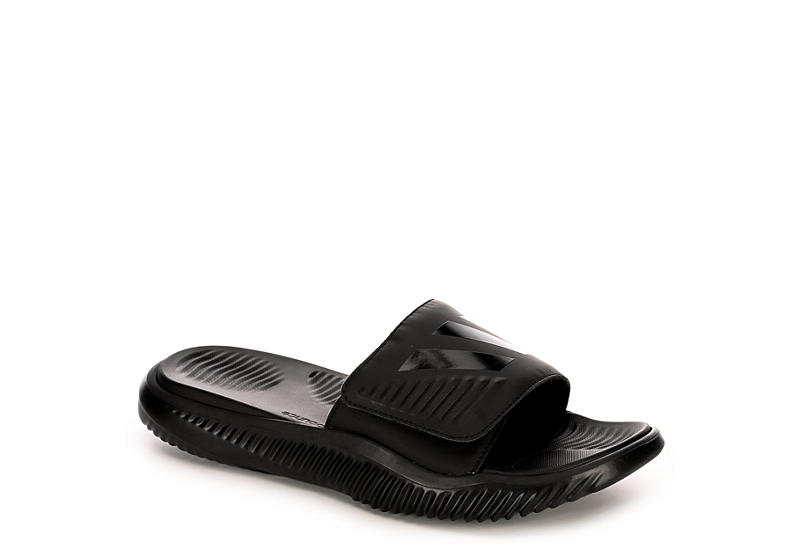 f84bb66d9efb6 Adidas Mens Alphabounce Slide Sandal - Black