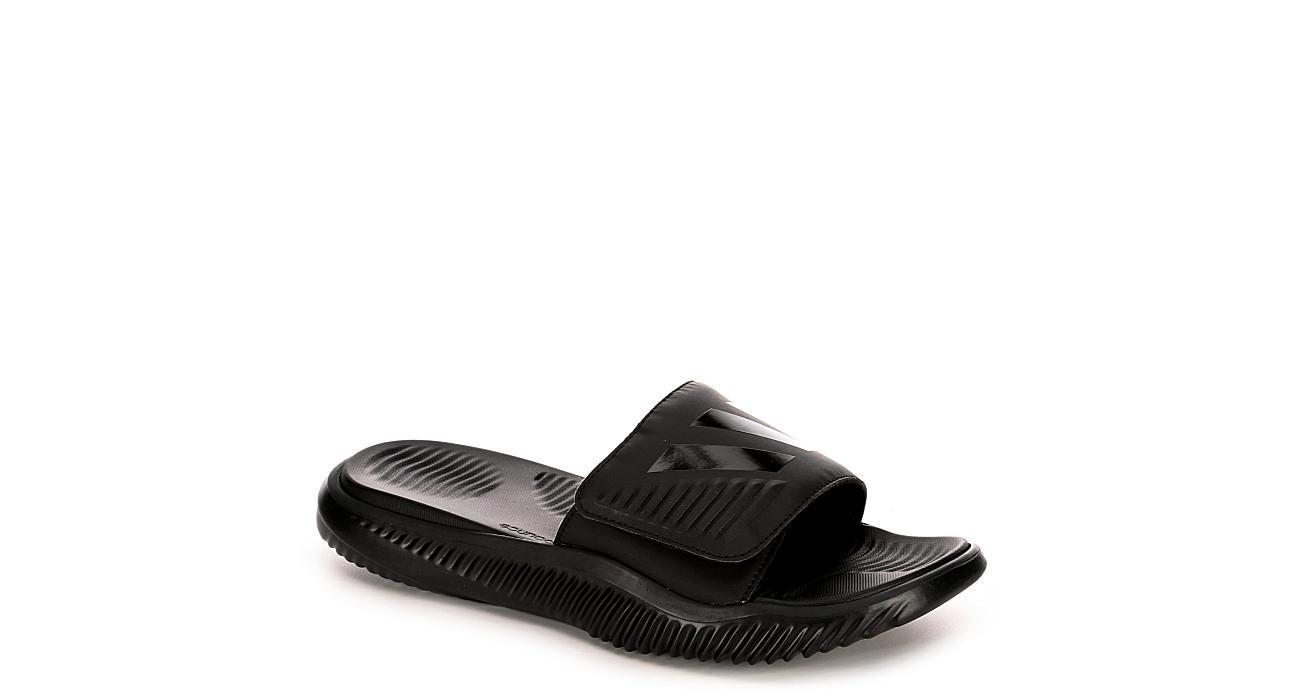 d3e6e3a4dd51 Adidas Mens Alphabounce Slide Sandal - Black