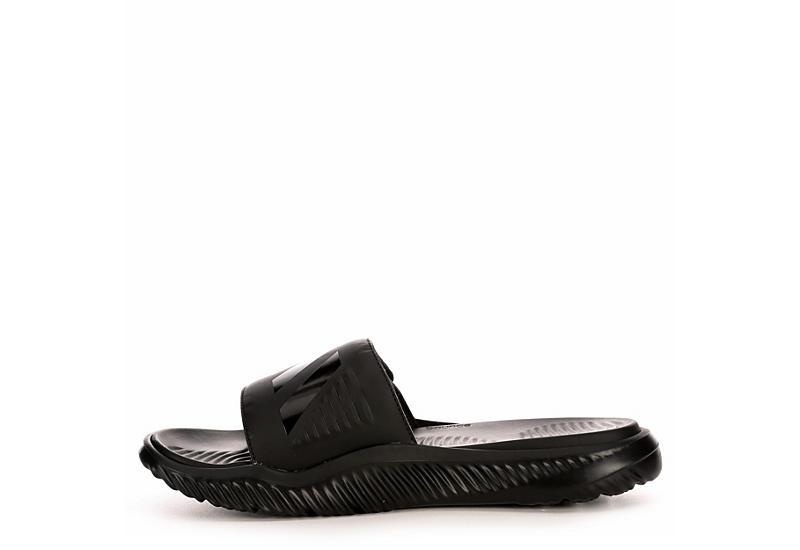 ADIDAS Mens Alphabounce Slide Sandal - BLACK