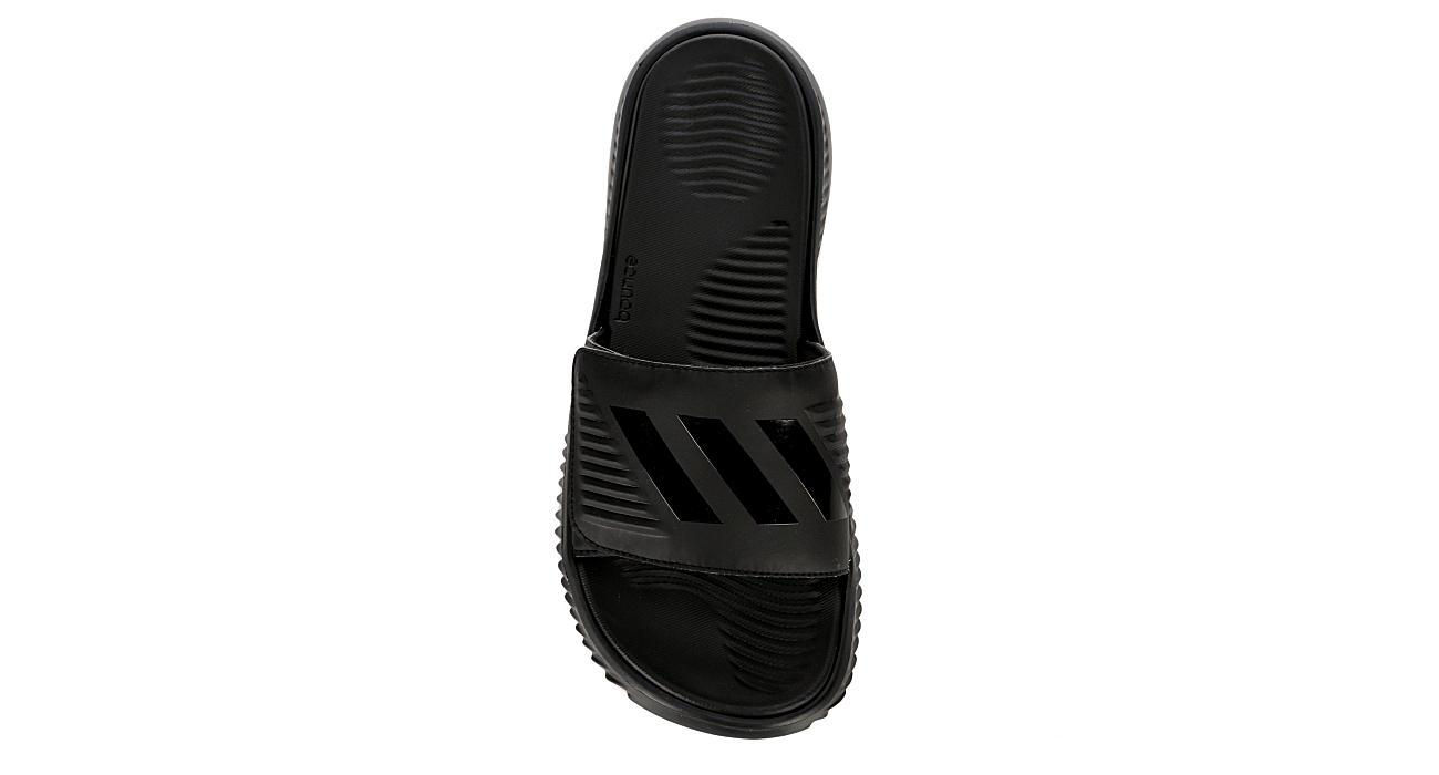0937dbe1688 Adidas Mens Alphabounce Slide Sandal - Black
