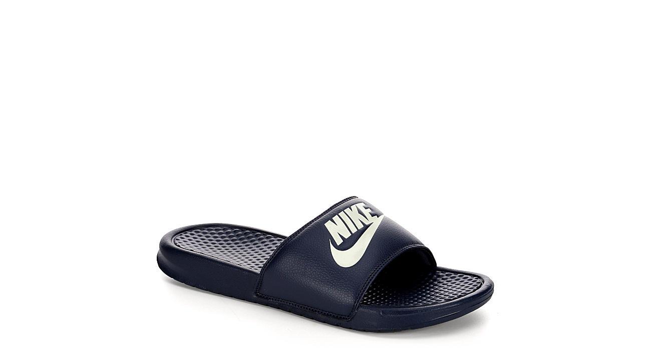 NIKE Mens Benassi Sandal - NAVY