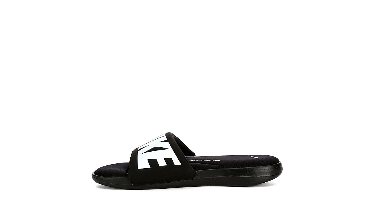 NIKE Mens Ultra Comfort 3 Slide Sandal - BLACK