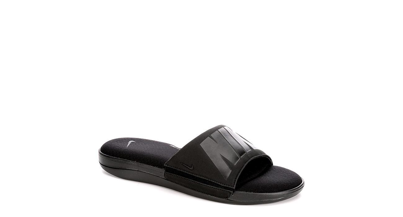 NIKE Mens Ultra Comfort 3 Sandal - BLACK