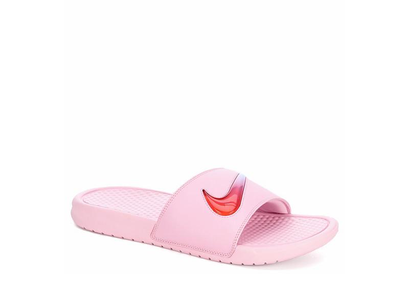 f35cffd92570 Nike Womens Benassi Sandal - Pink