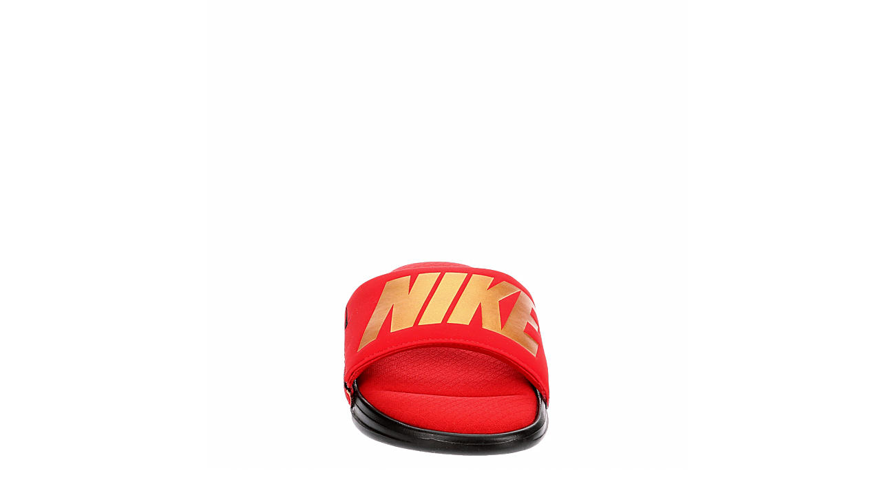 NIKE Mens Ultra Comfort 3 Slide - RED