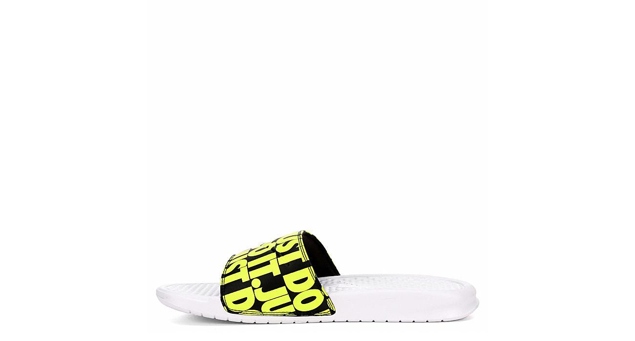 NIKE Mens Nike Benassi Jdi Printed - WHITE