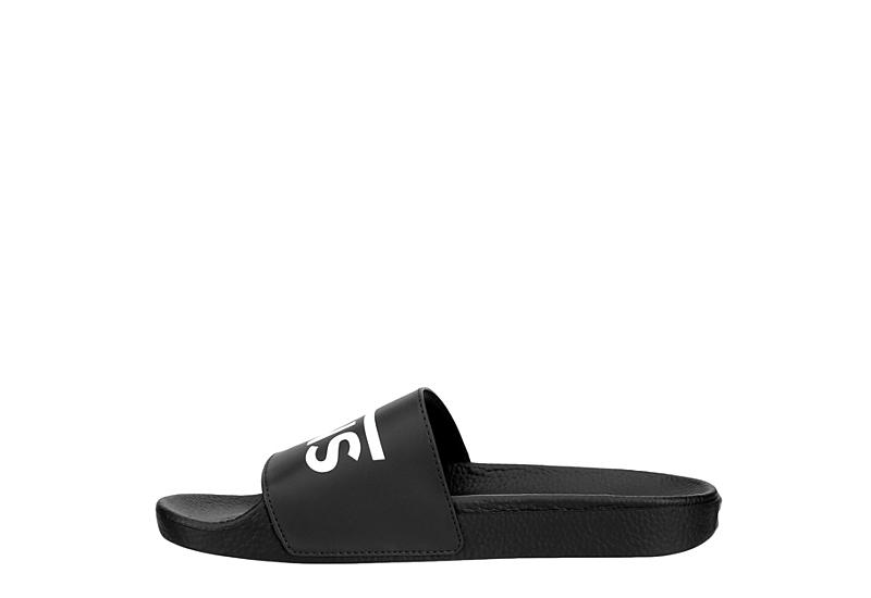 VANS Mens Slide One - BLACK