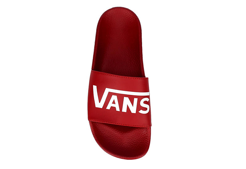 VANS Mens Slide One - RED