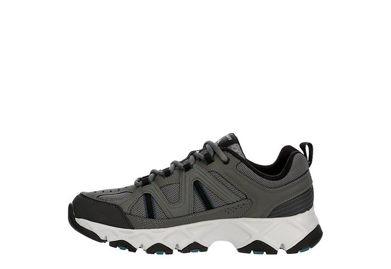 SKECHERS Mens Crossbar Sneaker - GREY