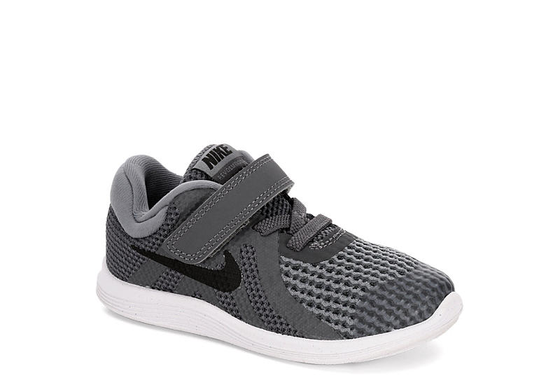 20c630d84499 Nike Boys Revolution 4 Toddler Running Shoe - Dark Grey