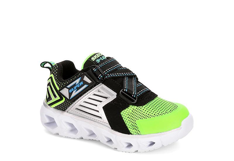 4e385fc93cfc Lime Skechers Boys Hypno Flash 2.0 Toddler Sneaker
