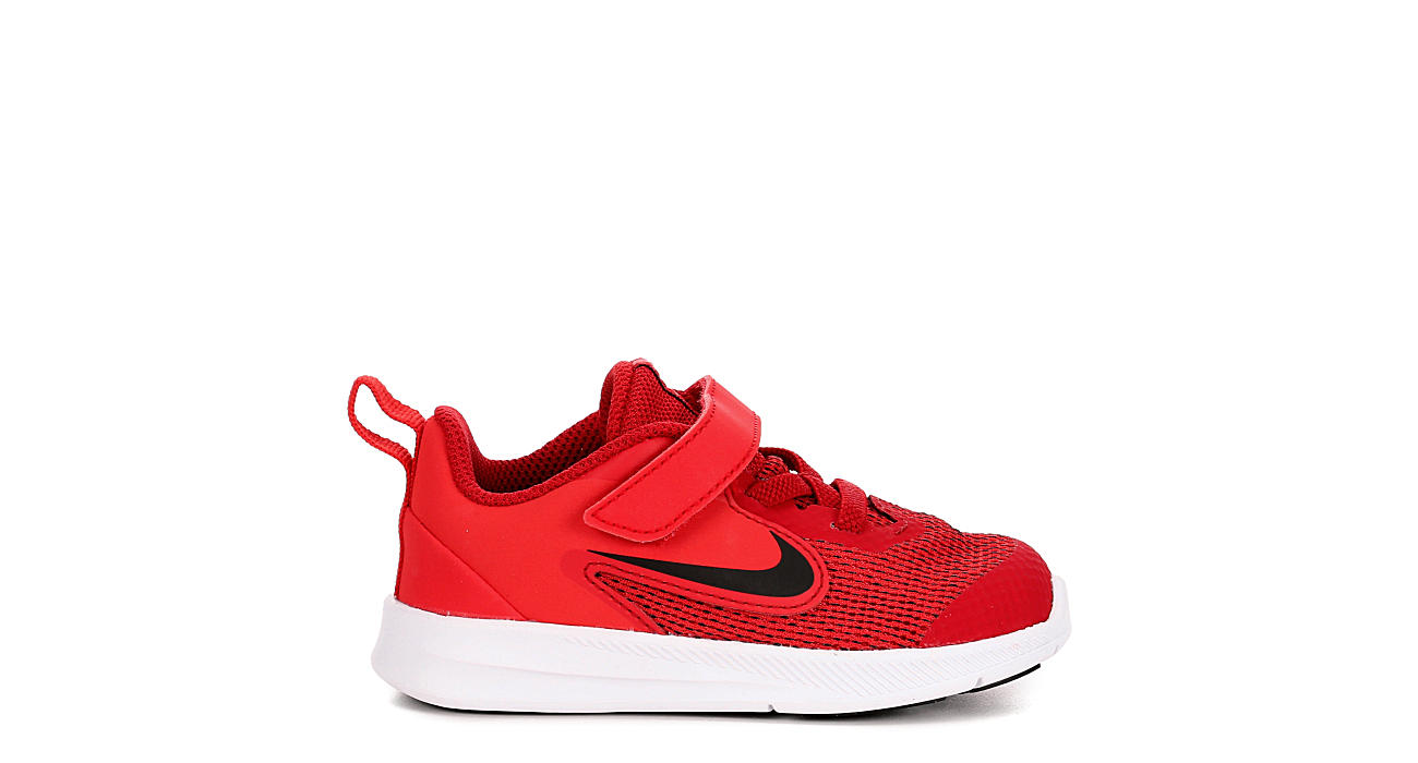 NIKE Boys Infant Downshifter 9 Sneaker - RED