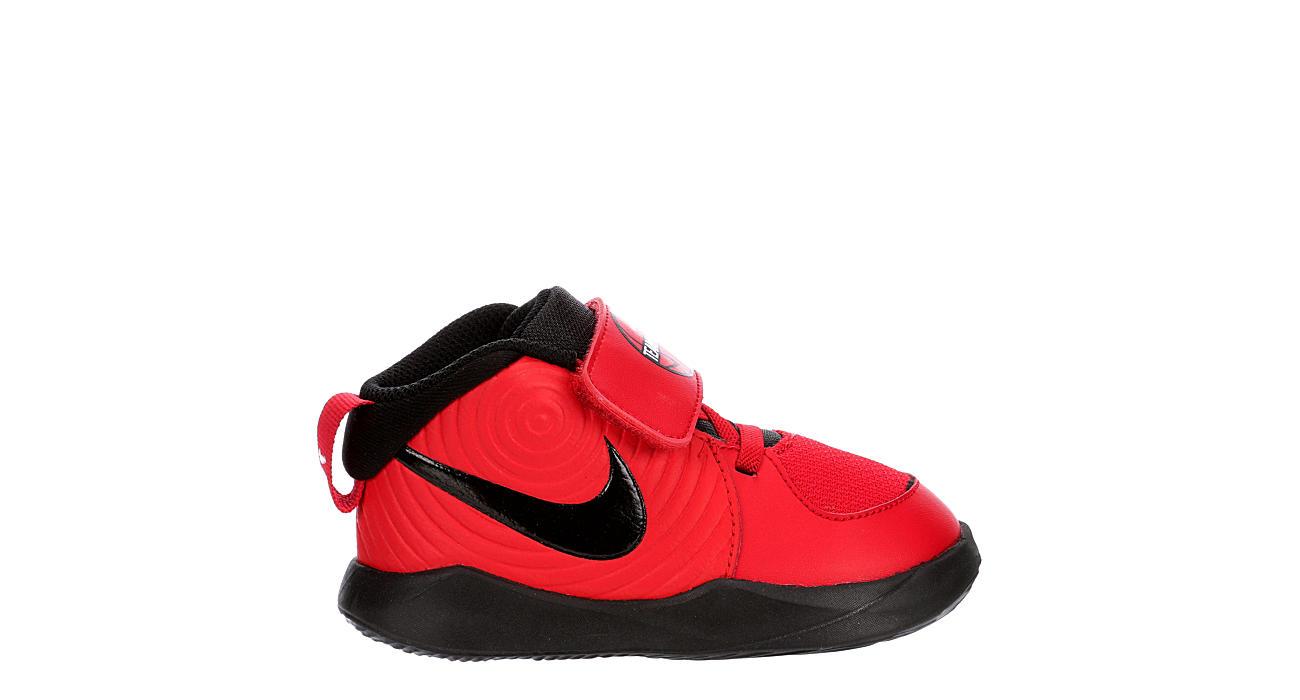 NIKE Boys Infant Hustle D9 Sneaker - RED