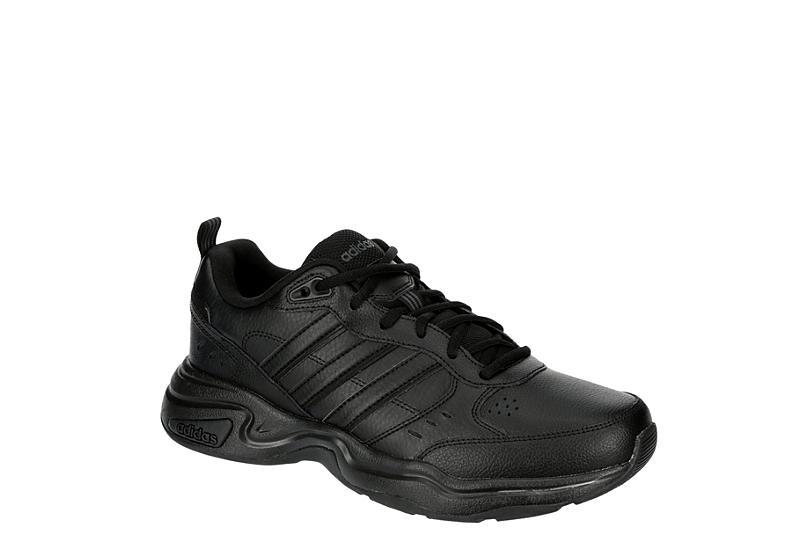 BLACK ADIDAS Mens Strutter Run Sneaker