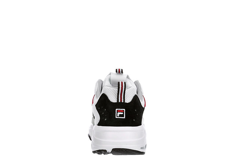 FILA Mens Ray Tracer Sneaker - WHITE