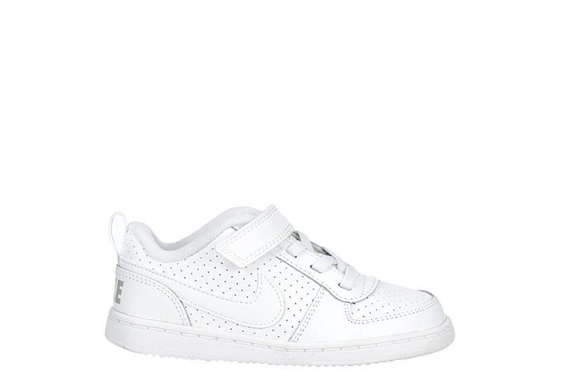 NIKE Boys Infant Court Borough Sneaker - WHITE