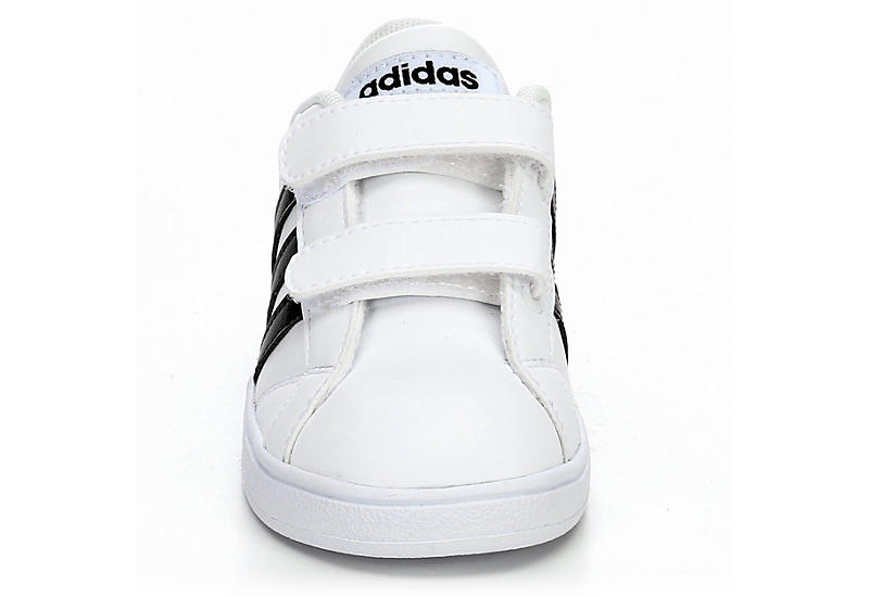 ADIDAS Boys Baseline Infant Sneaker - WHITE