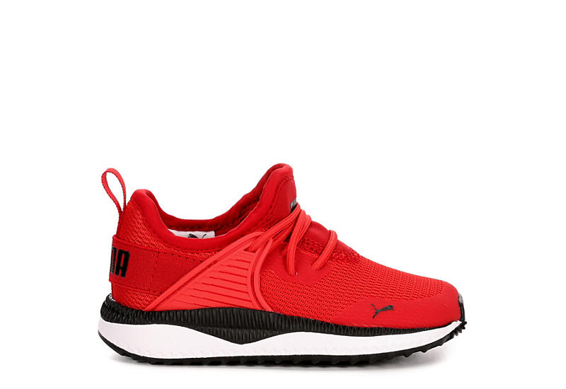 PUMA Boys Pacer Next Cage Sneaker Toddler - RED