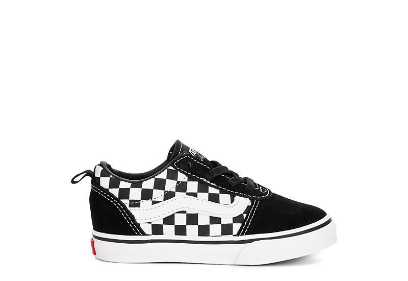 VANS Boys Infant Ward Sneaker - BLACK