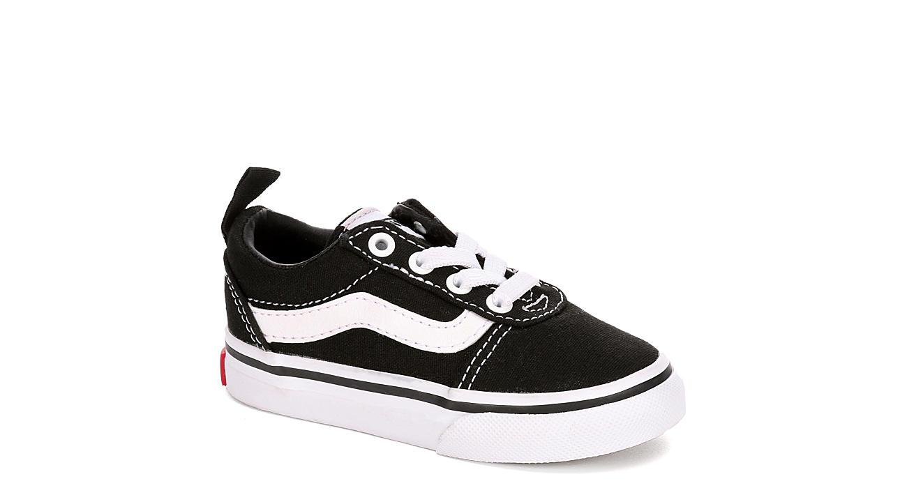 VANS Boys Ward Sneaker - BLACK
