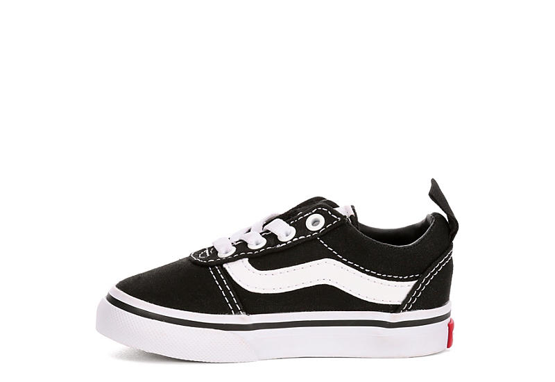 VANS Boys Ward Sneaker - BLACK