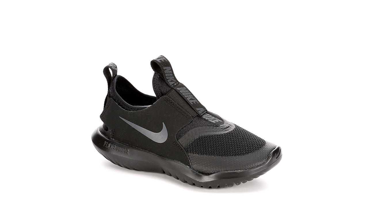 NIKE Boys Flex Runner Sneaker - BLACK
