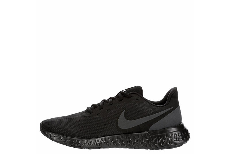NIKE Mens Revolution 5 Running Shoe - BLACK