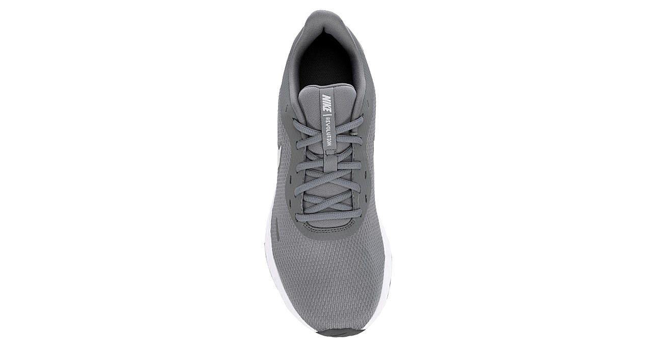 NIKE Mens Revolution 5 Running Shoe - GREY