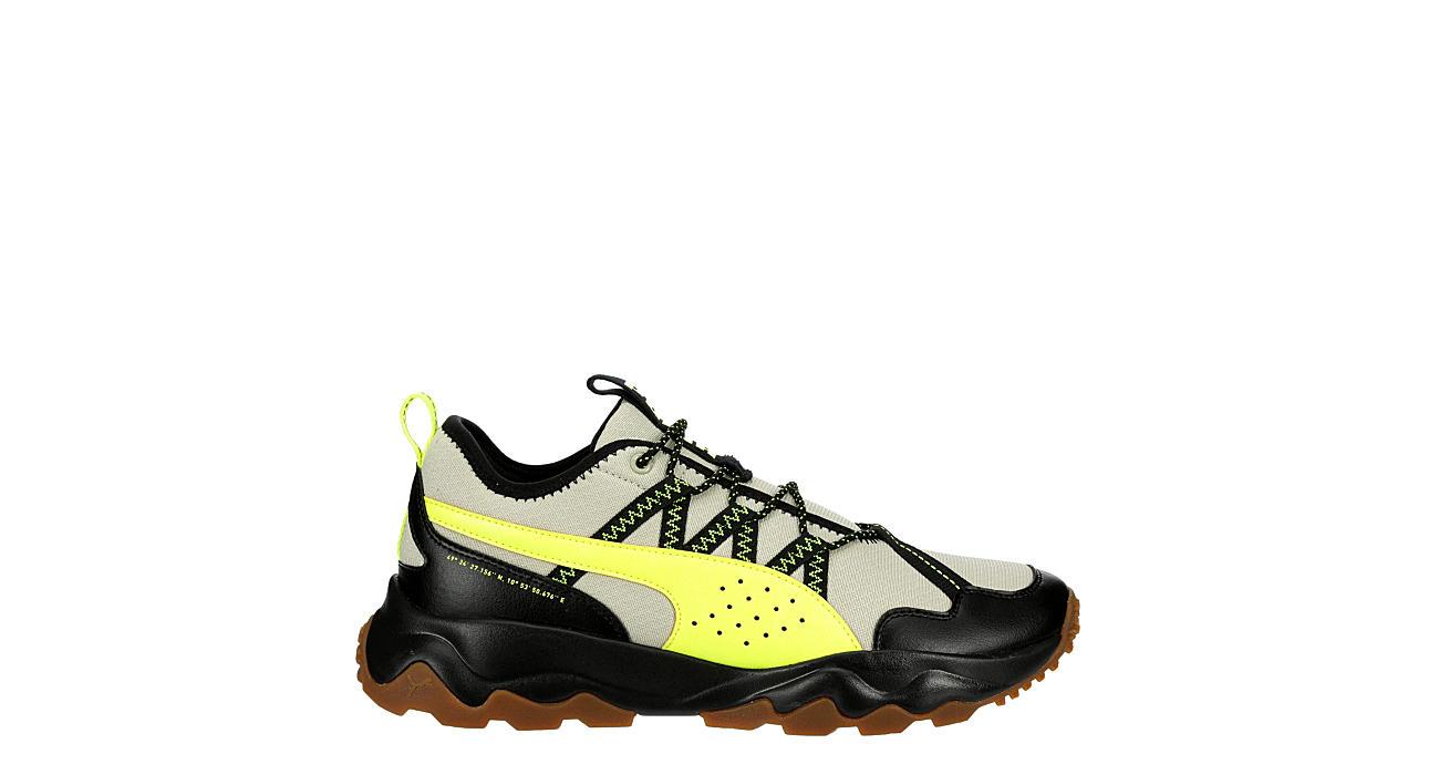 PUMA Mens Ember Trail Running Shoe - BEIGE