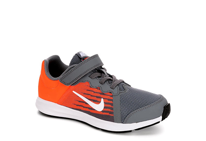 Nike Boys Downshifter 8 Sneaker - Grey 63c50e22a