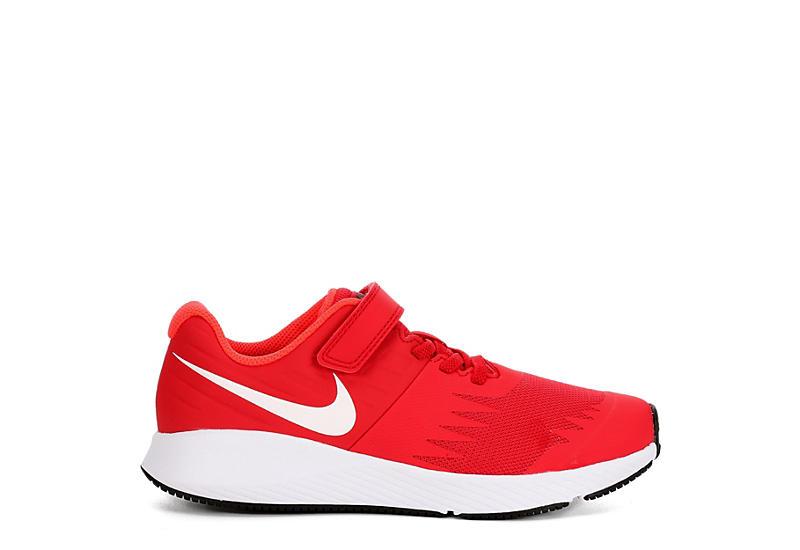 NIKE Boys Preschool Star Runner Sneaker - RED