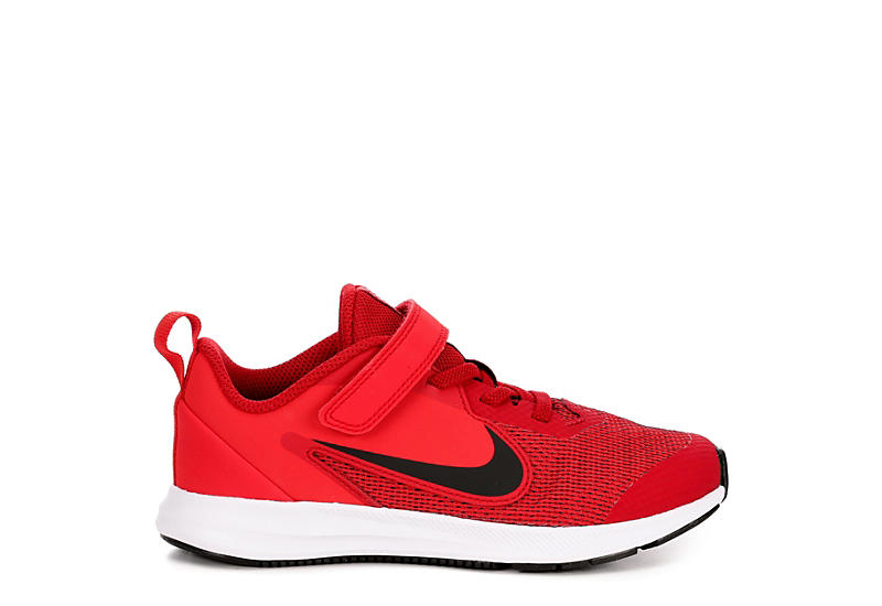NIKE Boys Preschool Downshifter 9 Sneaker - RED
