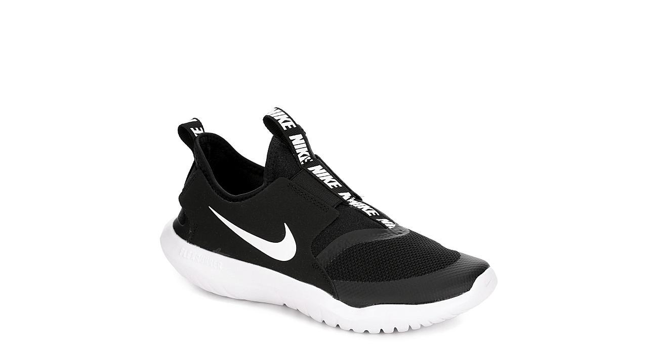 NIKE Boys Flex Runner Sneaker - BLACK