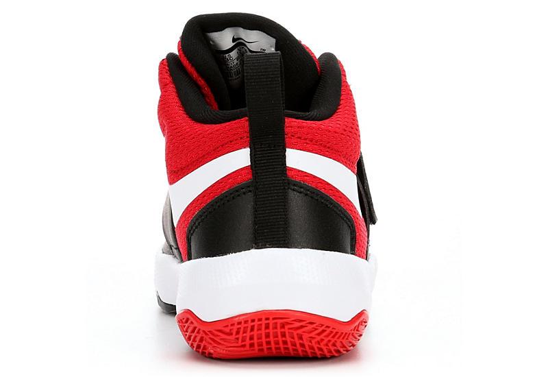 NIKE Boys Team Hustle D8 Basketball Shoe - BLACK