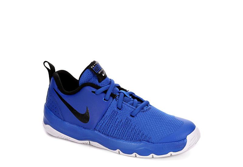 super popular 8642d 6ff52 Nike Boys Team Hustle Quick Basketball Shoe - Blue