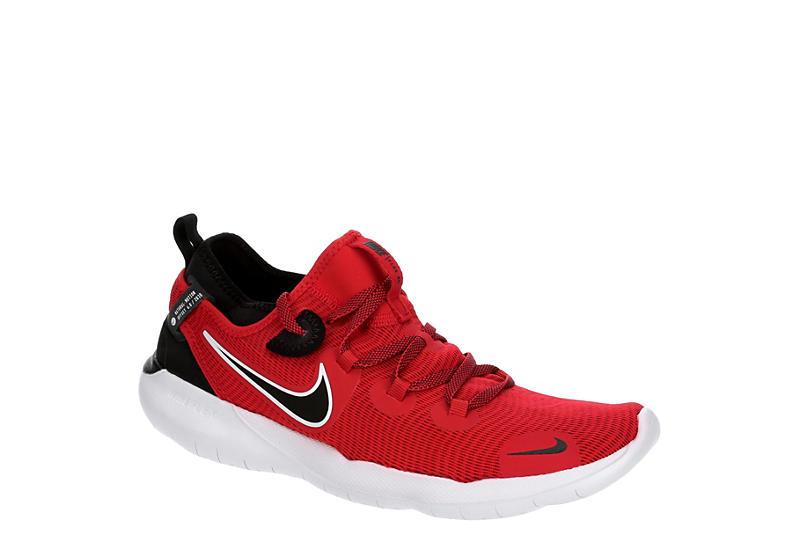 RED NIKE Mens Flex Run 2020 Running Shoe
