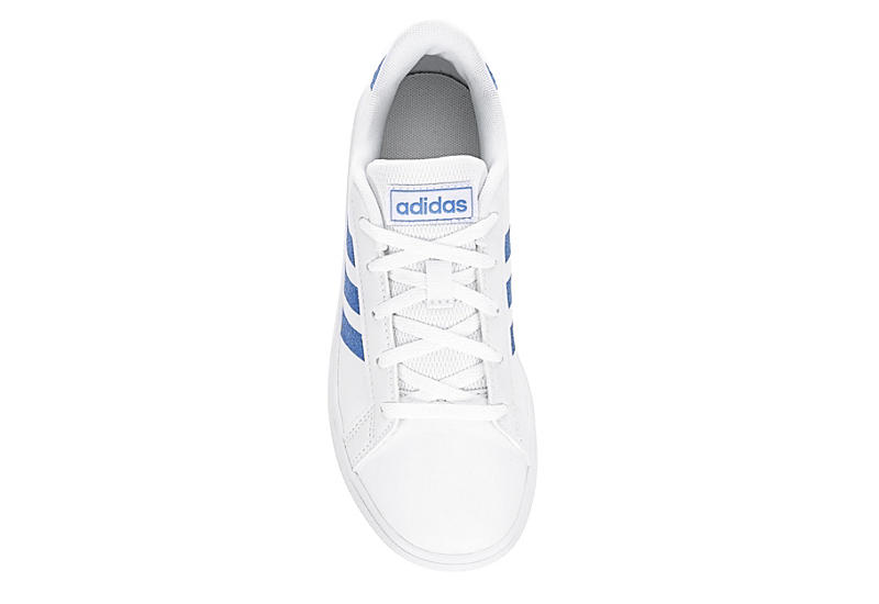 ADIDAS Girls Grand Court Sneaker - WHITE