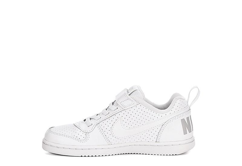 NIKE Boys Court Borough Sneaker - WHITE