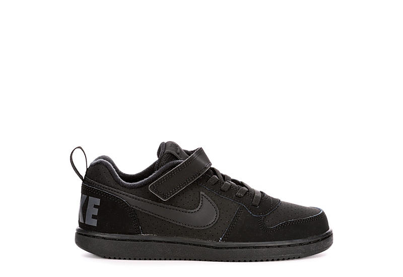 NIKE Boys Court Borough Sneaker - BLACK