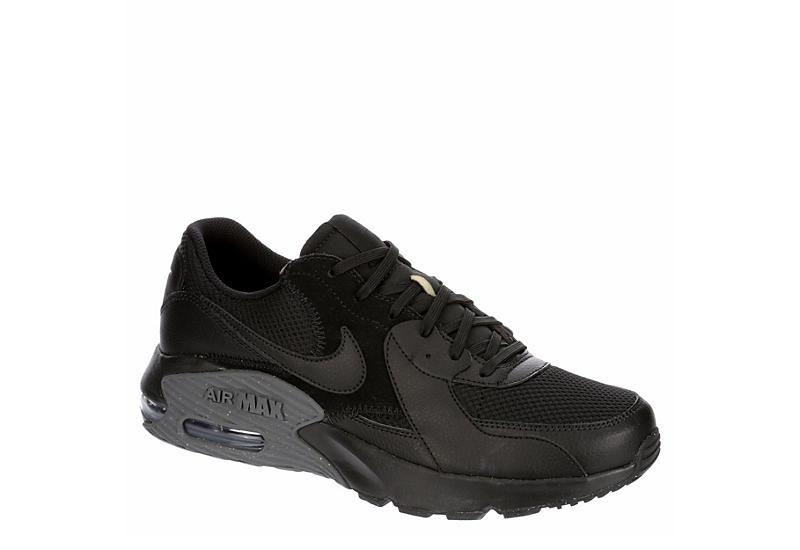 BLACK NIKE Mens Air Max Excee Sneaker