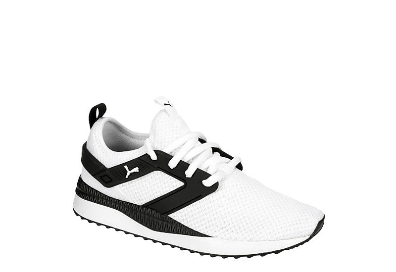 WHITE PUMA Mens Pacer Cage Excel Running Shoe