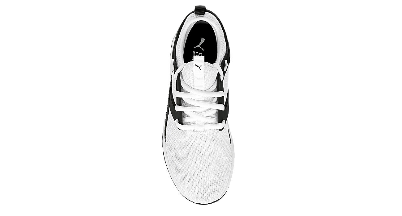 Puma Mens Pacer Cage Excel Running Shoe White