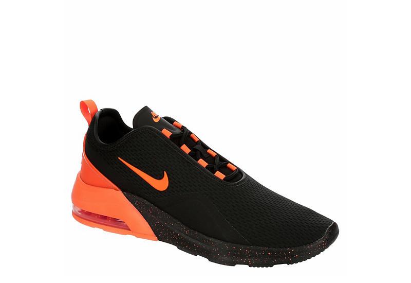 BLACK NIKE Mens Air Max Motion 2 Running Shoe
