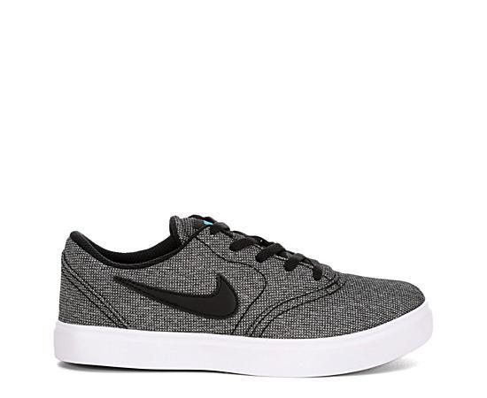 Boys Check Sneaker