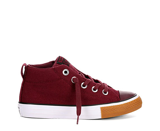 Boys Chuck Taylor All Star Street Mid Top Sneaker