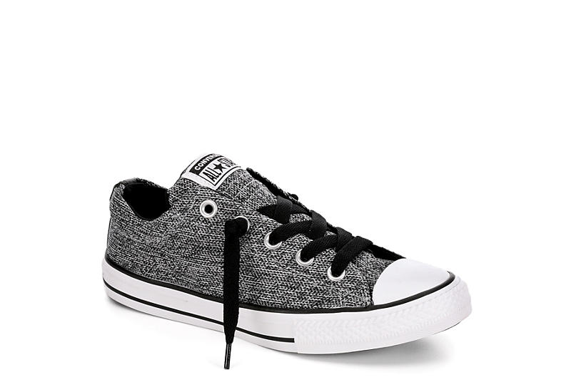0da3531dd0cd Grey Converse Boys Chuck Taylor All Star Street Slip Sneaker ...